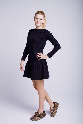 Sukienka do karmienia czarna