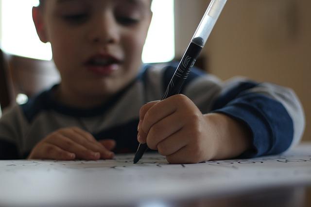 Nauka pisania - jak pomóc dziecku?