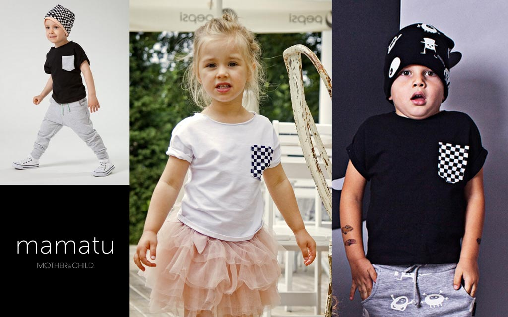 koszulki dla dzieci z kieszonką