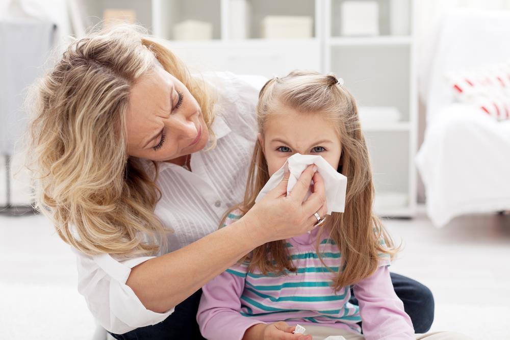 sposoby na przeziebienie u dziecka