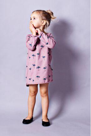 36860196 Sukienka do karmienia piersią STARS różowa - Mamatu