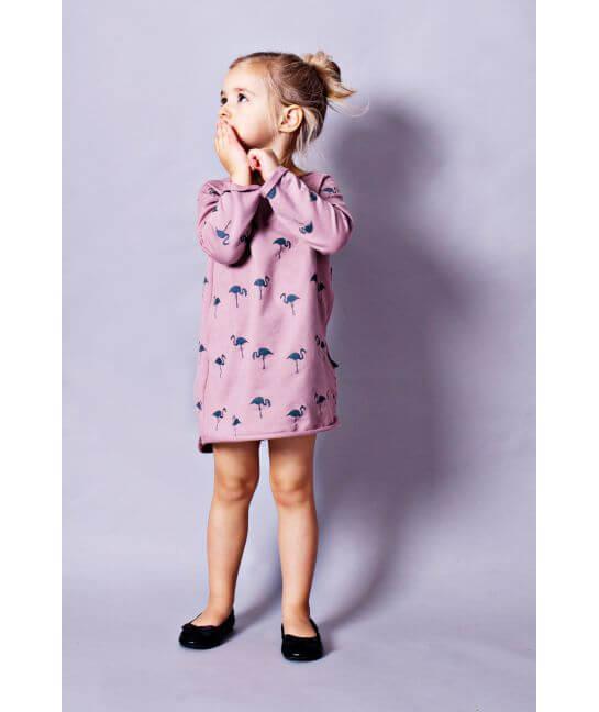 Sukienka dla dziewczynki FLAMINGI