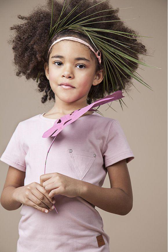 Koszulka dziecięca TRIPOC różowa