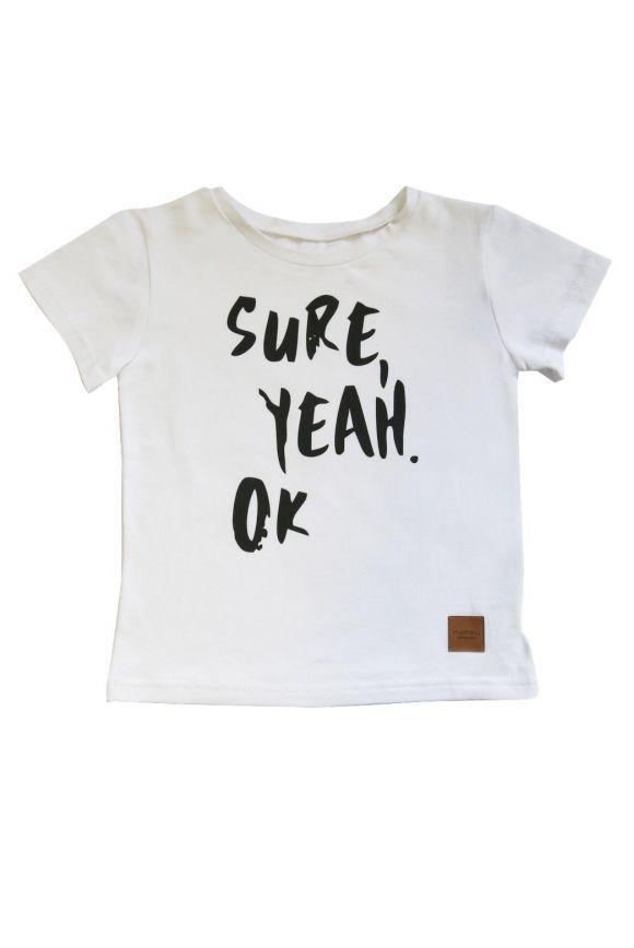 Koszulka dziecięca Sure Yeah OK