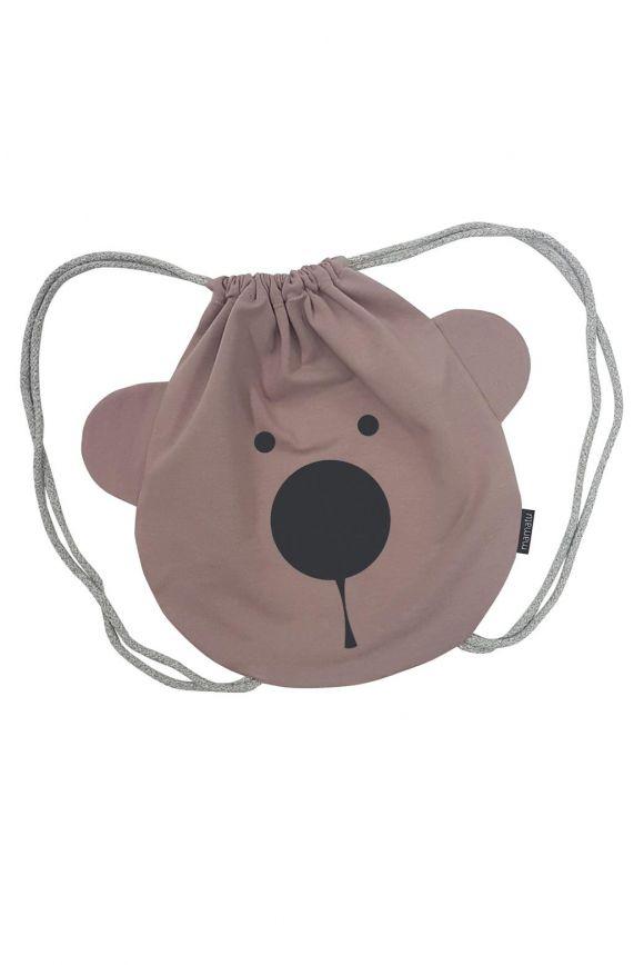 Plecak dziecięcy MIŚ różowy
