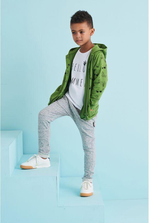 Bluza dziecięca LATO zielona