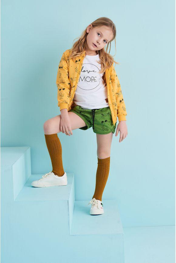 Bluza dziecięca LATO żółta