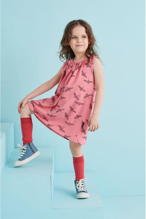 Sukienka dla dziewczynki ŻURAW