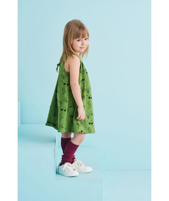 Sukienka dziecięca LATO zielona
