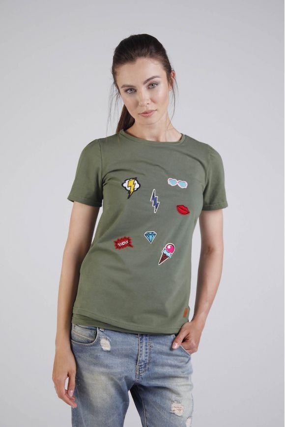 Koszulka do karmienia MELANGE DEER