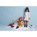 Sukienka dziecięca NARCIARZE z kapturem