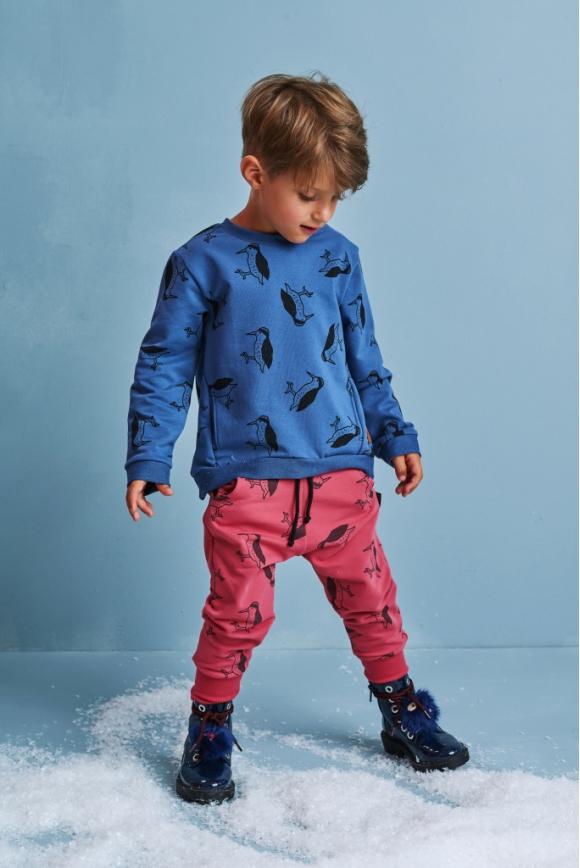 Bluza dziecięca DZIĘCIOŁ granatowy