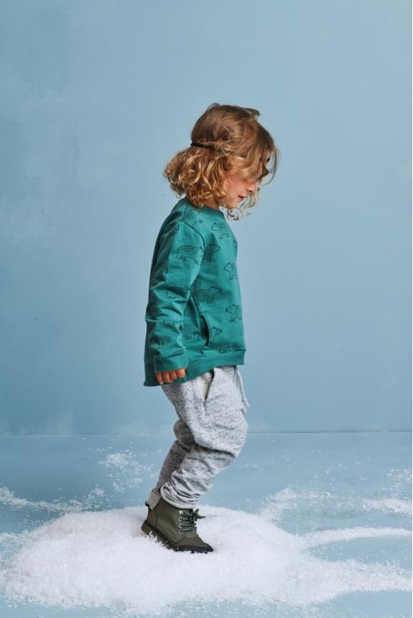 Bluza dziecięca TEDDY BEAR morska