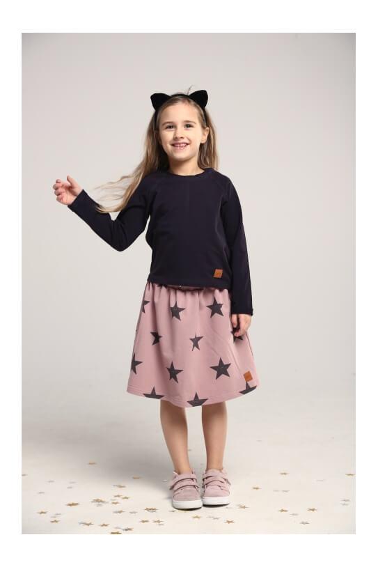 5182b99f Spódnica dla dziewczynki różowa STARS - Mamatu