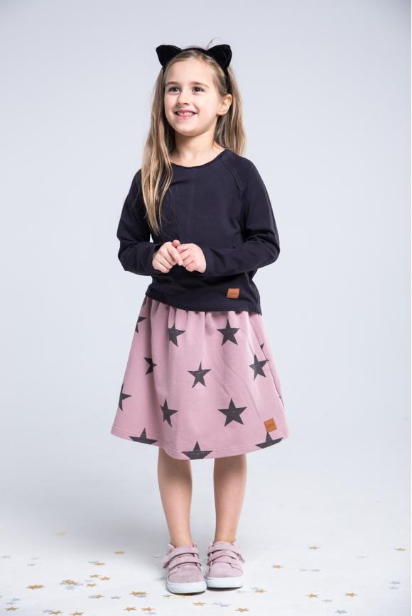 Spódnica dziecięca STARS różowa