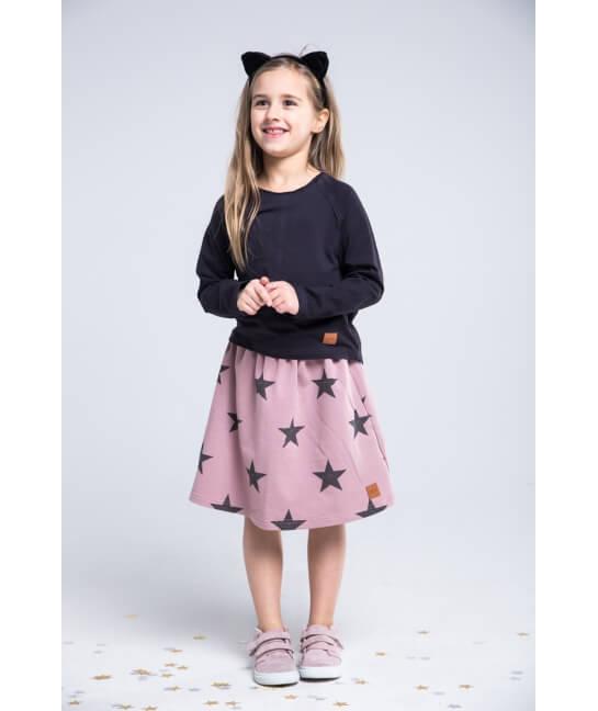 Spódnica dla dziewczynki różowa STARS