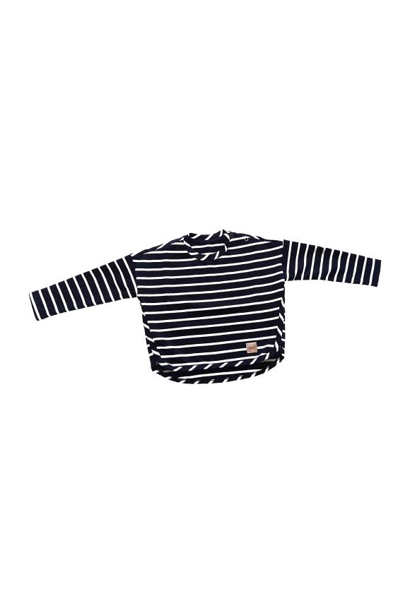 Bluza dziecięca PASKI z napami
