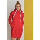 Bluzo-sukienka do karmienia RED