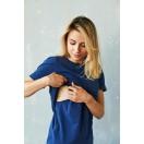 Koszulka do karmienia piersią GRANAT
