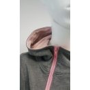 Bluza do karmienia z różowym kapturem