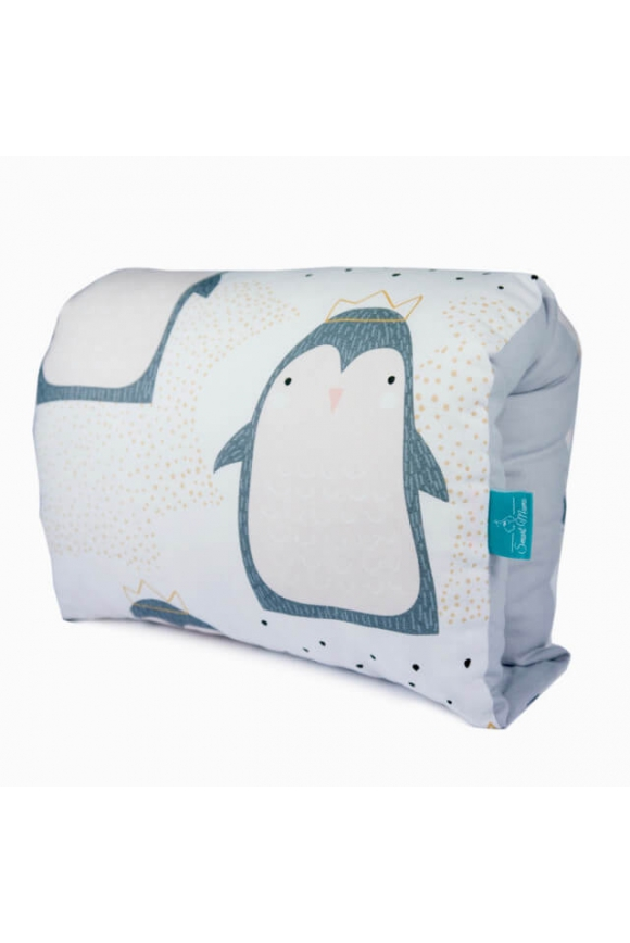 Poduszka ułatwiająca karmienie PINGWIN - bawełna