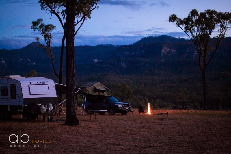 camping w Australii