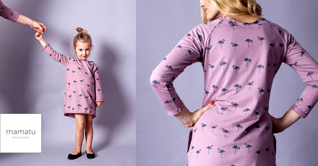 Clothes for nursing moms and daughters