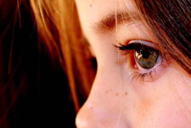 oczy dziewczynki