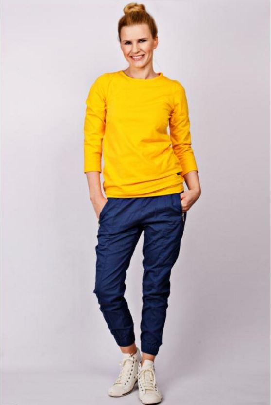 Bluzka do karmienia Mamatu - modna, neonowa, żółta - idealna na wiosnę!