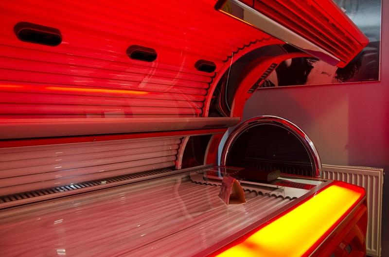 Karmienie piersią a wizyta w solarium