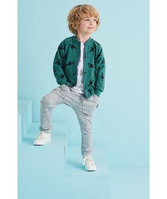 Zielona bomberka dla chłopca